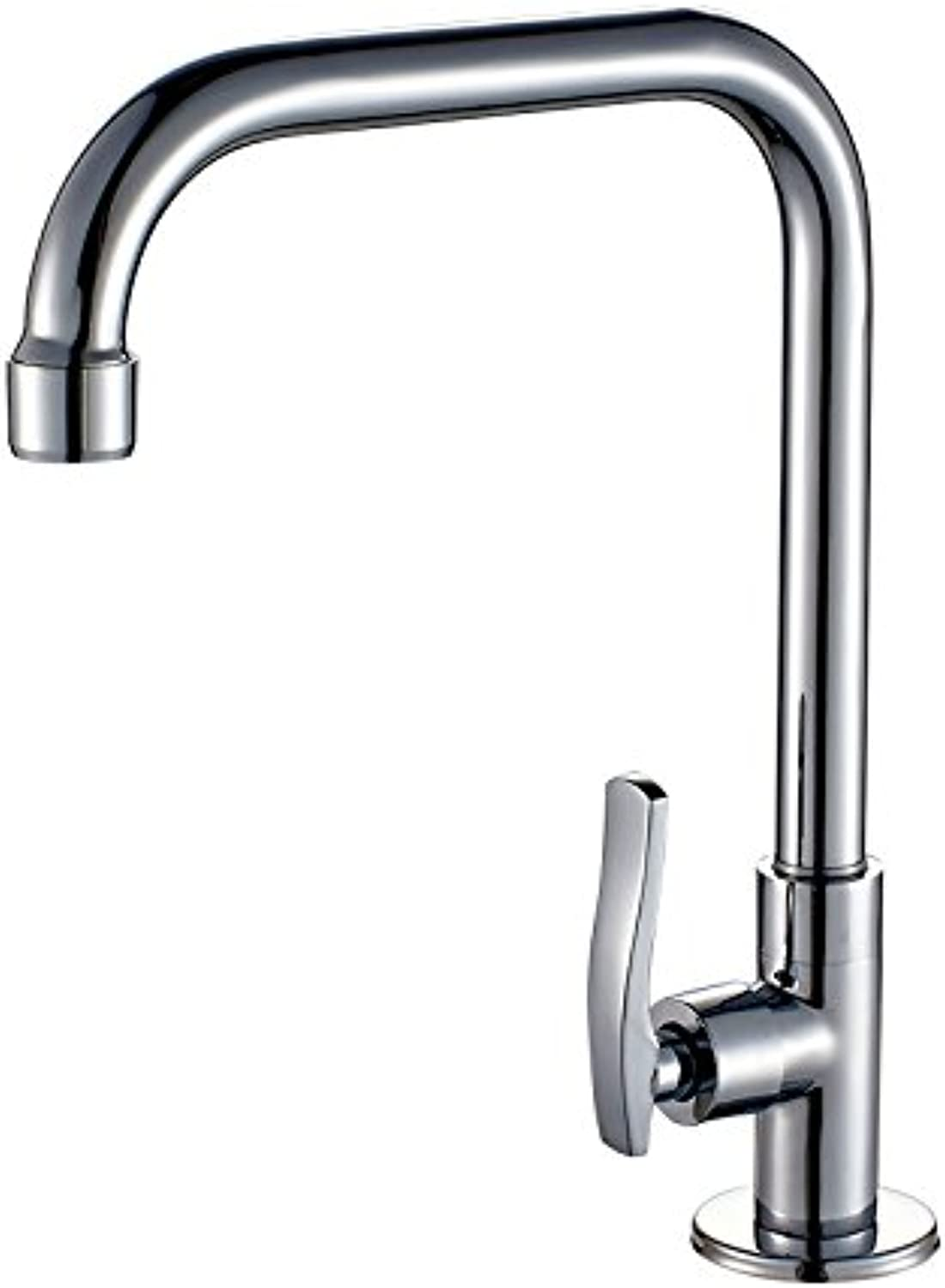 ETERNAL QUALITY Bathroom Sink Basin Tap Brass Mixer Tap Washroom Mixer Faucet The Kitchen dish washing basin single cold water laundry pool faucet full copper tower stand