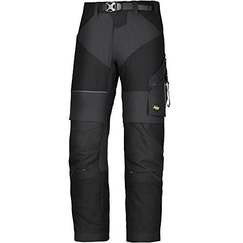Snickers Workwear 6903 FlexiWork Arbeitshose, 1 Stück, 46, schwarz, 69030404046