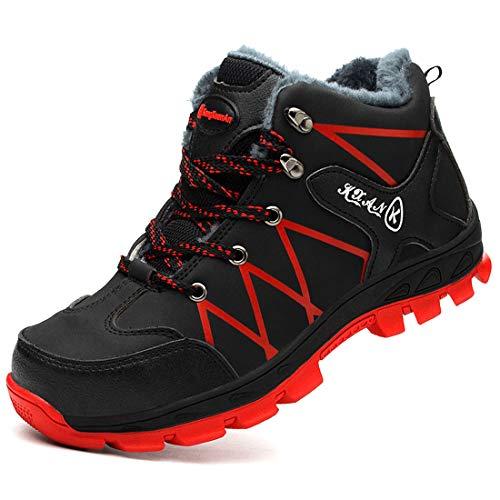 Botas de Seguridad Invierno S1P Zapatillas de Seguridad con Puntera de Acero...