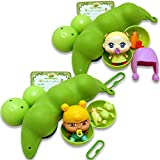 Thin Air Brands Pea Pod Babies Bundle (Set of 2) - Collectible Mystery Surprise Toys with Mini Baby, Clothing, & Accessories - All in A Soft Pea Pod - Small Doll for Boys & Girls Ages 3+