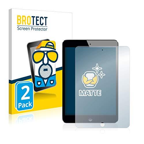 BROTECT 2X Entspiegelungs-Schutzfolie kompatibel mit Apple iPad Mini 2 Bildschirmschutz-Folie Matt, Anti-Reflex, Anti-Fingerprint