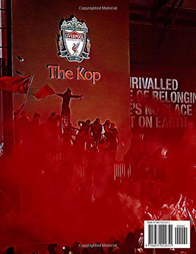 """Jordan Henderson #14 Liverpool Premier League Champions 2019-2020 Notebook: 8.5"""" x 11"""" 120 Pages Matte Finish: Black Lined Notepad Journal with ... Anfield Kop Celebration Graphic, Edition 3"""