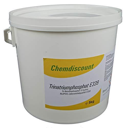5kg Natriumphosphat (Trinatriumphosphat) in Lebensmittelqualität E339, versandkostenfrei