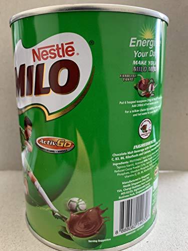 Nestle Milo Energy Kakao Pulver Drink 400g (4Stück)