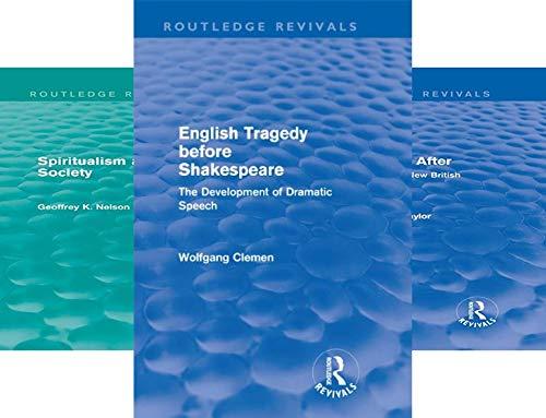 Routledge Revivals (27 Book Series)