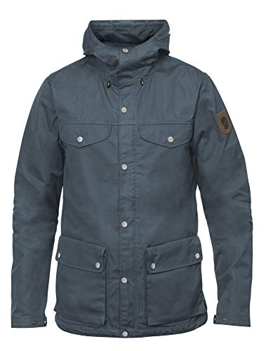 FJALLRAVEN Greenland Jacket H - Klassische Herrenjacke S Violett (Dusk)