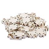 Beada 20 unidades de carcasa para pilas CR2032 SMD, botón de celdas, soporte para batería, zócalo, carcasa de color blanco