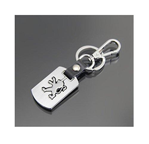 NN_KA Porte clé clés Clef pour PG Metal Design en métal Top Design Compatible Design avec Logo