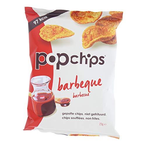 Popchips Grillchips, vegetarisch-glutenfrei - 21 Beutel x 23 Gramm
