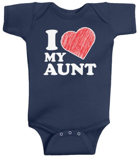 i love my aunt baby clothes - 8
