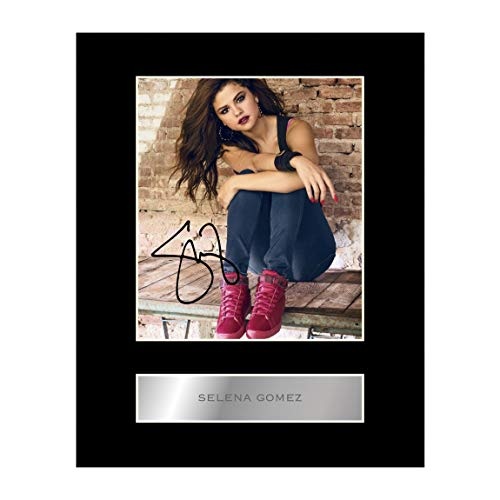 Selena Gomez Autogramm-Fotodruck #1, mit Autogramm