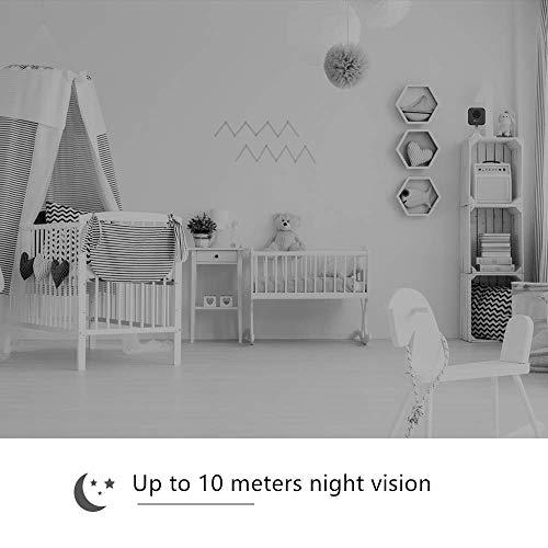 EZVIZ C1mini 720p FHD Kamera 2.4Ghz Wi-Fi Indoor Video Überwachungskameras mit Zwei-Wege-Audio, Nachtsicht, Cloud, Kompatibel mit Alexa, Google Home, IFTTT CS-C1C-D0-1D1WFR-C1mini