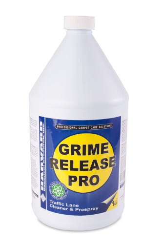 Harvard Chemical 2560 Grime Release Pro Carpet Pre-Spray and Traffic Lane Cleaner, 1 Gallon Bottle, Straw Milky (Case of 4)
