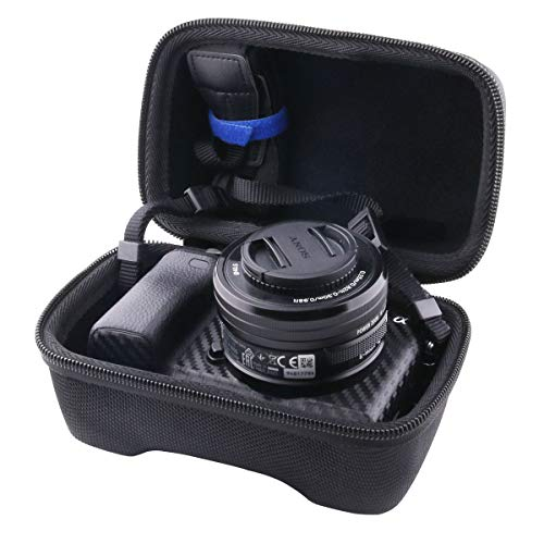 WERJIA Hard EVA Travel Case for Sony Alpha a6000/a6400/a6600/a6100/a5100 Mirrorless Digital Camera