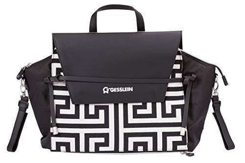 Gesslein 6350534000 Wickeltasche N°4, schwarz, 800 g