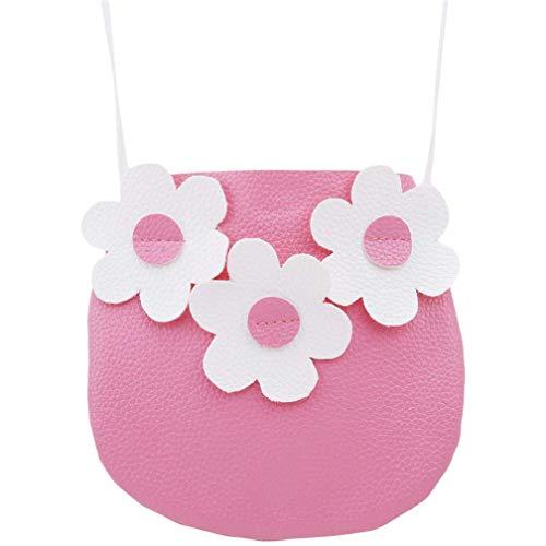 Ogquaton Kinder Kleinkind Geldbörse für kleine Mädchen Prinzessin Umhängetasche Geldbörse, Pink Robust und kostengünstig