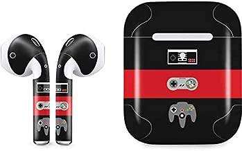 Skinit Decal Audio Skin for Apple AirPods (2nd gen) & Wireless Charging Case - Originally Designed Nintendo Controller Evolution Design