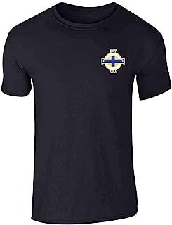 northern ireland retro football shirt