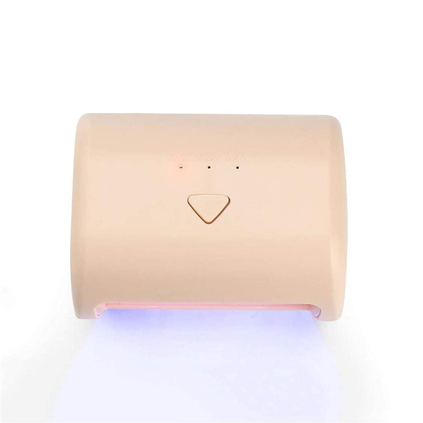 自分のために第九聴覚ネイルドライヤー, ネイルランプ9W UV LEDネイルドライヤー硬化ランプ3タイマー設定付き爪&足の爪のジェルポリッシュ (Color : B)