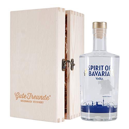 Spirit of Bavaria - Vodka mit Geschenk-Holzkiste