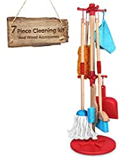 Toy Cleaning Set Includes Kid-Sized