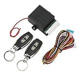 KIMISS Automotive Keyless Entry Systems, Auto Remote Control Central Kit 20mA Controlador Universal De Entrada Sin Llave De Coche Para Todos Los Modelos De Vehículos De 12V
