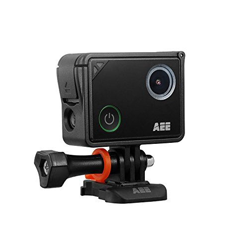 AEE LYFE Silver | 4K Action Camera with Built in WiFi and Bluetooth