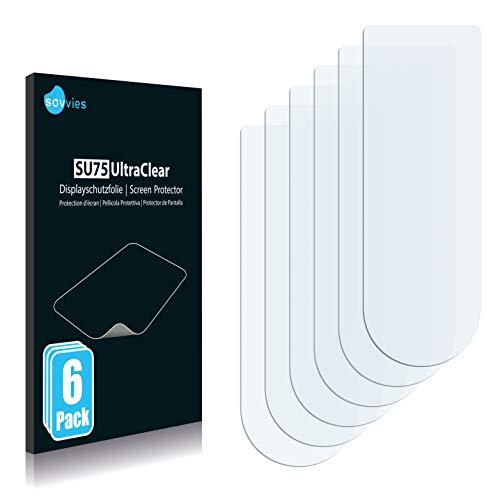 savvies 6-Pezzi Pellicola Protettiva Compatibile con Endubro ID101HR Protezione Schermo Trasparente