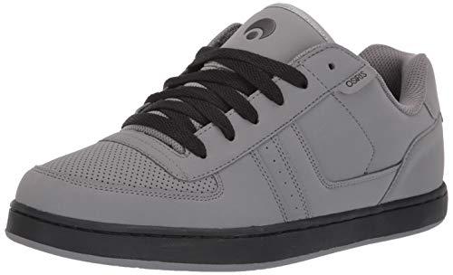 Osiris Men's Relic Skate Shoe, Grey/Black/Grey, 7.5 M US