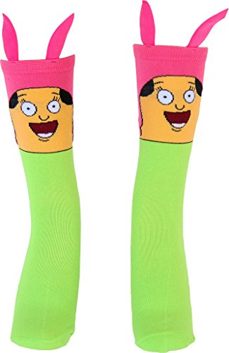 Bob's Burgers Louise Face Adult Socks
