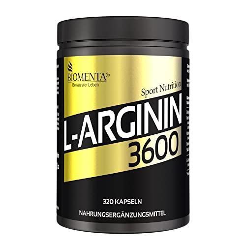Biomenta -   L-Arginin 3600 -