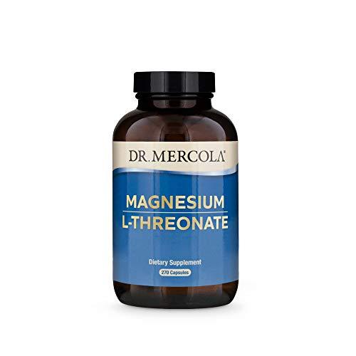Dr. Mercola Magnesium L-Threonate 90 Day, 270 Capsules