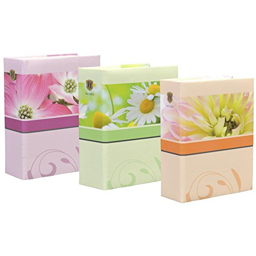 Henzo Blossoms Minimax Fotoalbum, Maße: 10 x 15 cm, 100 Fotos, Farbe Sortiert, Artikelnummer: 98.226.00