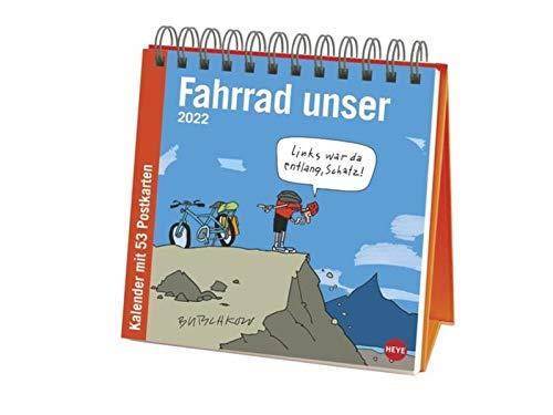 Butschkow: Fahrrad unser Premium-Postkartenkalender 2022
