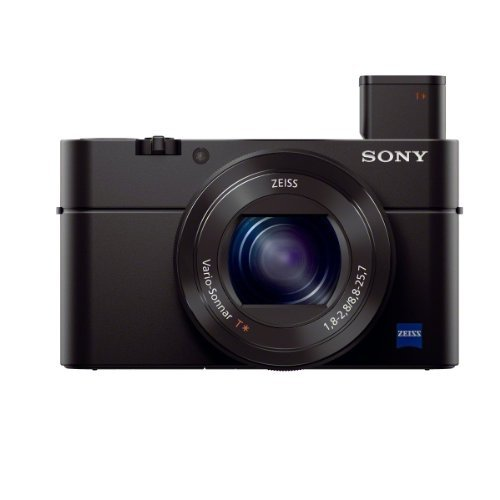 Sony Cyber-shot DSC-RX100M3/B Digital Camera RX100 III | Black (Renewed)