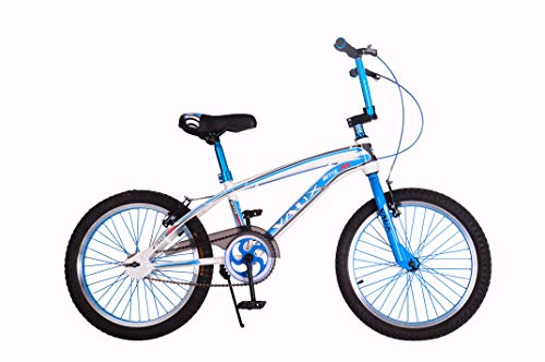 """Vaux BMX-155 20T Kids Bicycle for Boys Single Speed Cycle (Ideal for Cyclist with Height 3'11"""" – 4'3"""") –Blue"""