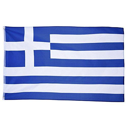 naicasy 150x 90cm Griechische Flagge