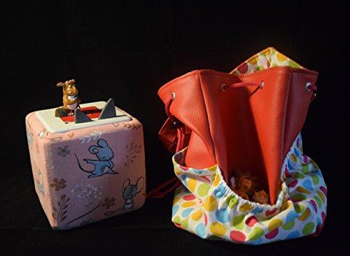 Transsportasche für Spielzeug, Tonie,Hörbox, Spielzeug Malsachen, Tasche