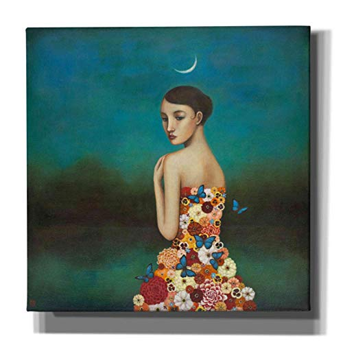 Epic Graffiti 'Reflective Nature' by Duy Huynh, Canvas Wall Art, 26'x26'