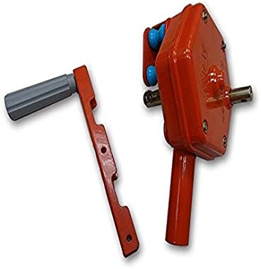 Greenhouse Sidewall Manual Film roll up Hand Crank Winch for Greenhouse Ventilation