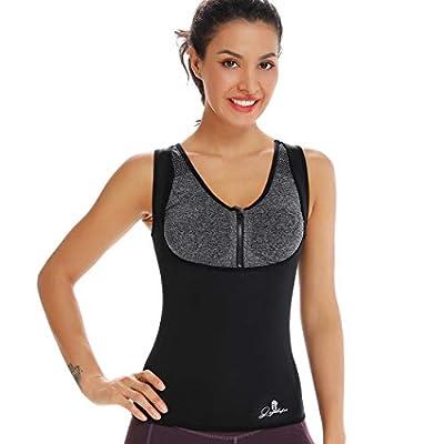 Joyshaper Neoprene Slimming Sweat Vest For Weight Loss Women Waist Trainer Fat Burner Top Thermo Tummy Control Body Shaper