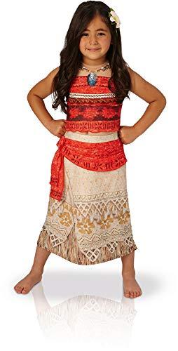 Rubie's 3630512 - Vaiana Deluxe - Child, Verkleiden und Kostüme, S