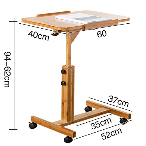 ZfgG Laptop Tafel Slaapbank Tafelbed Tafel Verstelbare Hoogte Stevige Laptop Stand Bureau