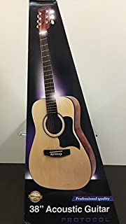 """Protocol 38"""" Acoustic Steel String Guitar"""
