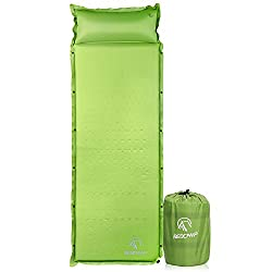 REDCAMP Self-Inflating Sleeping Pad With Pillow