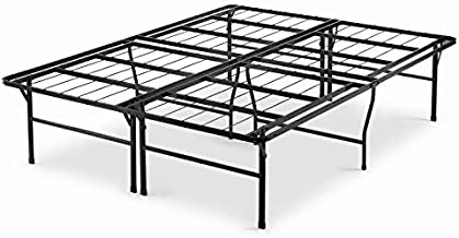 Zinus Casey 18 Inch Premium SmartBase Mattress Foundation / 4 Extra Inches high for Under-bed Storage / Platform Bed Frame / Box Spring Replacement / Strong / Sturdy / Quiet Noise-Free, Full