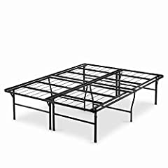 The Premium 18 Inch Smart Base eliminates the need for a traditional box spring and bed frame. Queen : 80 x 60 x 18 inches 18 Inch high with 17 Inch of clearance under the frame for 4 extra Inch of under bed storage space Strong, steel mattress suppo...