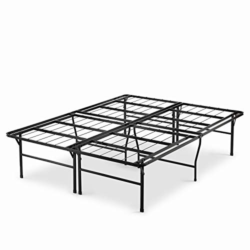 Zinus 18 Inch Premium SmartBase Mattress Foundation / 4 Extra Inches high for Under-bed Storage / Platform Bed Frame / Box Spring Replacement / Strong / Sturdy / Quiet Noise-Free, Cal King