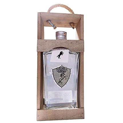 Spirito Vetton- Ginebra Premium Artesanal – Botella de 70 cl - Mejor Ginebra Española por Segundo Año Consecutivo (EXTRA DRY MADERA)