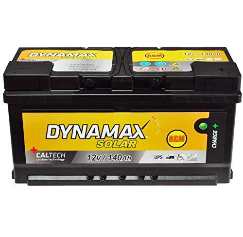 Batteria solare AGM USV 140 Ah Dynamax, non richiede manutenzione, corrente di emergenza invece di 150 Ah 130 Ah GEL
